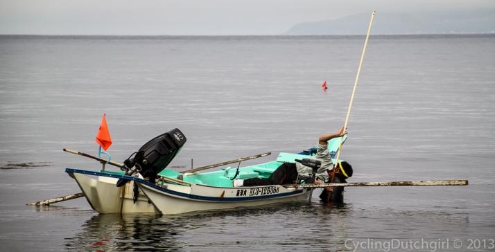 Fishing for Shell fish