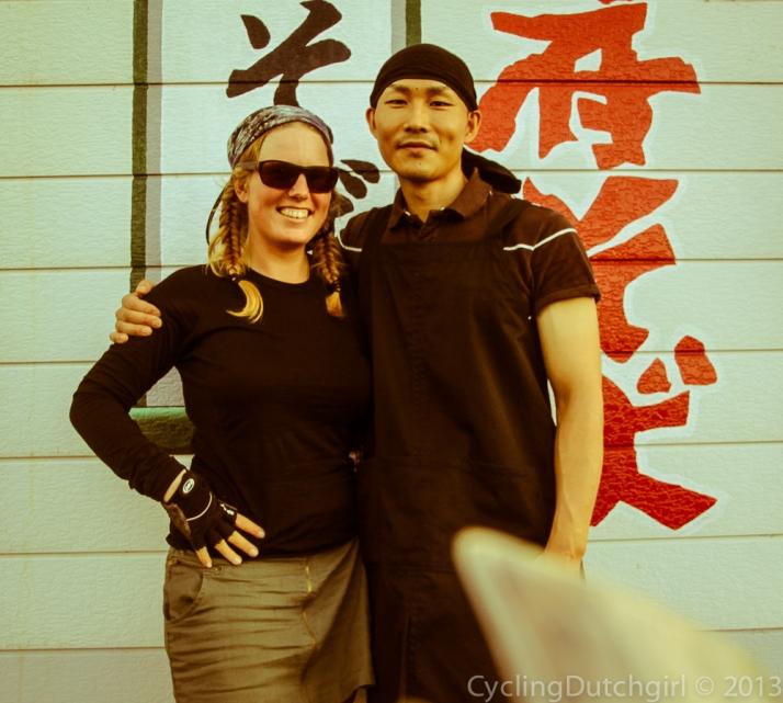 Hiroshi and me