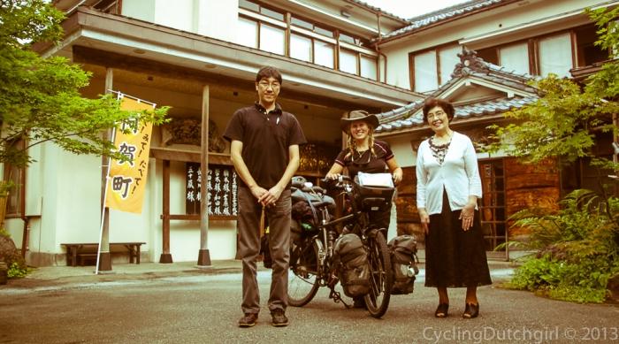at the Furusawa Ryokan