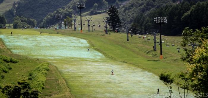 Mid Summer ski field