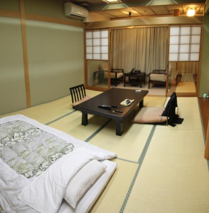 my room in the Ryokan