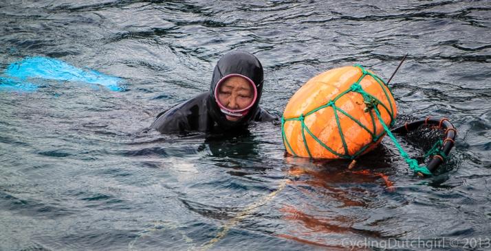 Free Diving Granny