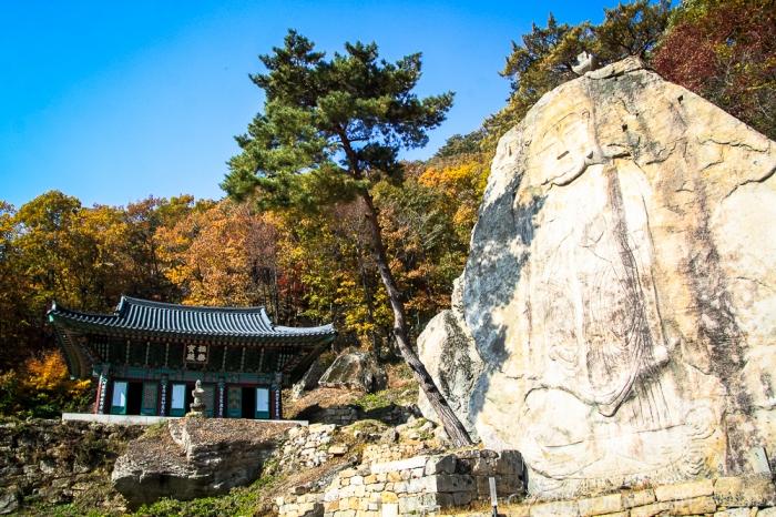 Stone Carved Buddha