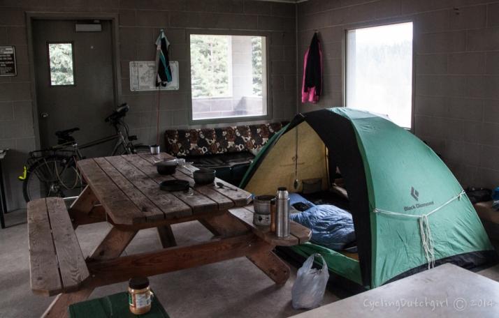 Hut Camping