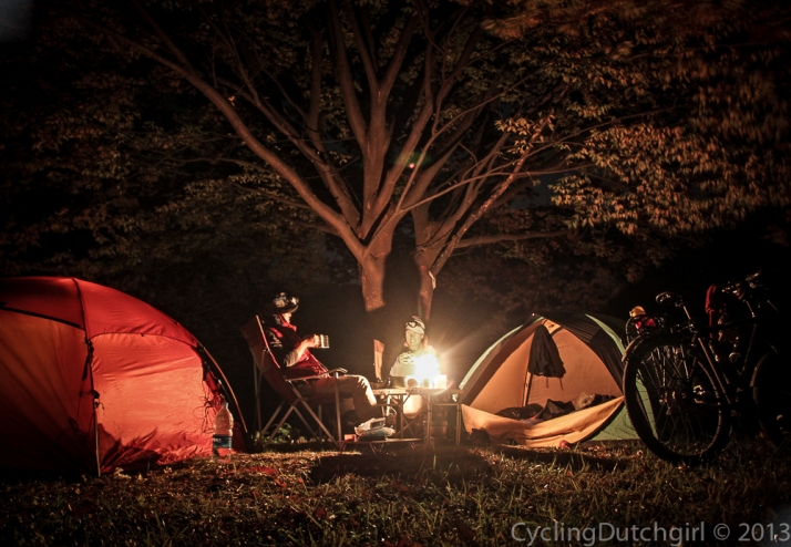 Camping together
