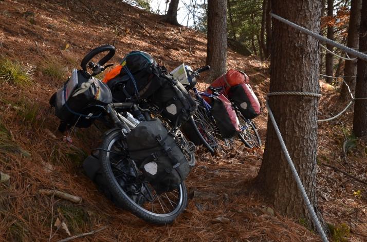 Bikes on Hill