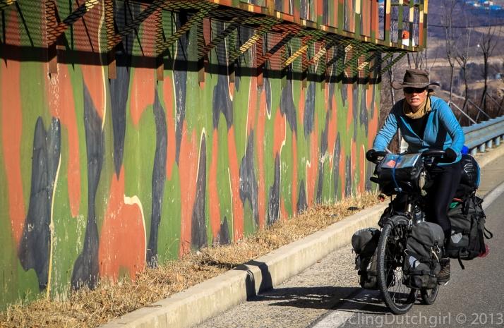Riding along the walls