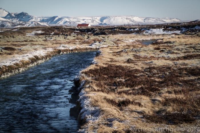 hot river