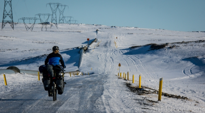 out the ice road