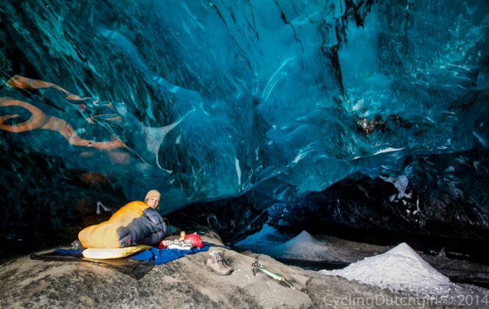 Ice Cave Camping