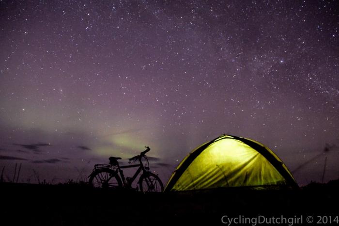 bike tent