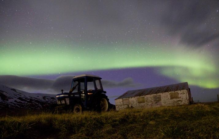 Tractor Bike, Northern Light