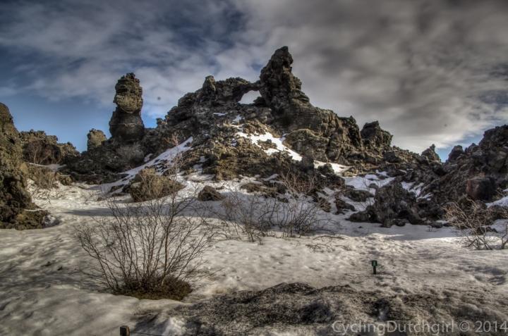 Bizar rock formations