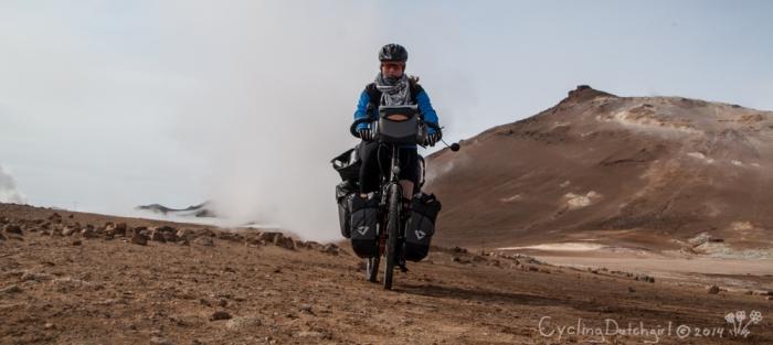 Volcanic Bike ride