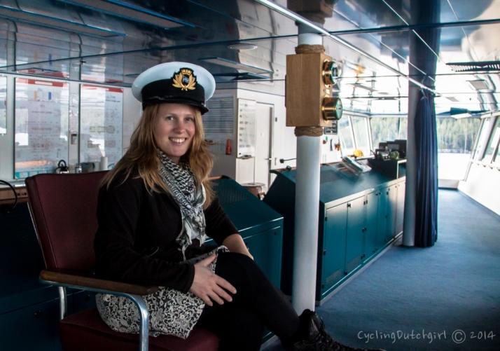 Captain me.