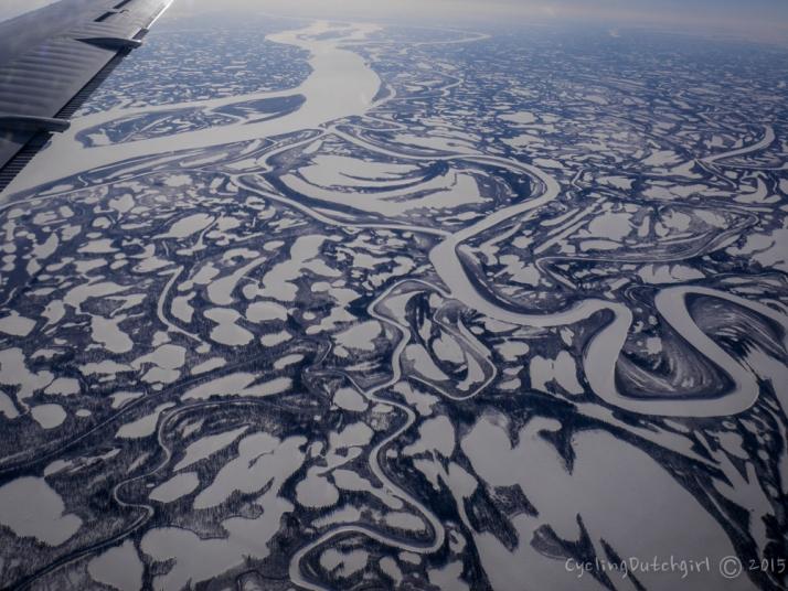 McKenzie river delta