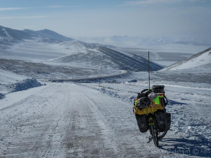 Heading into the Yukon