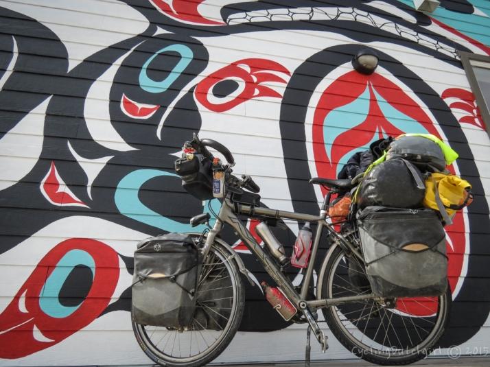 Bike in Carcross