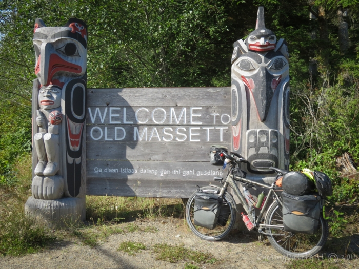 Made it to Masset