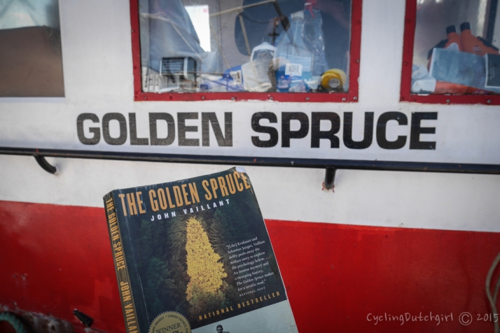 Reading the Golden Spruce