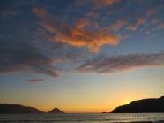 westcoast sunset