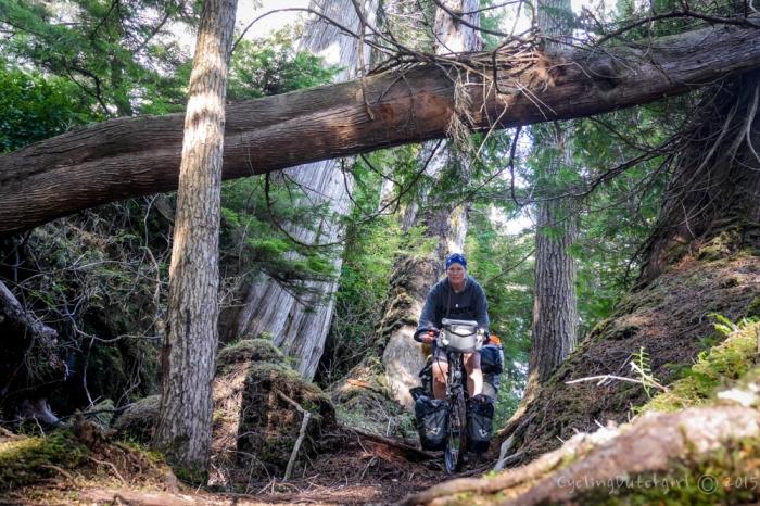 Riding Haida Gwaii
