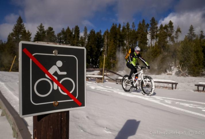 No cycling?