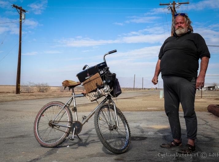 Man & bike